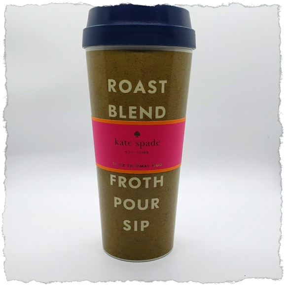 KATE SPADE INSULATED CUP